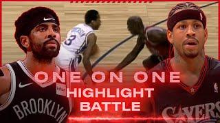 Kyrie Irving Vs. Allen Iverson Highlight Battle!