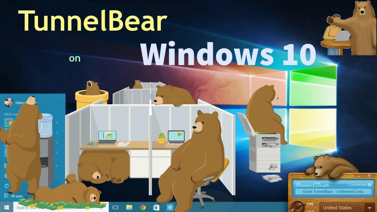 tunnelbear для windows 7
