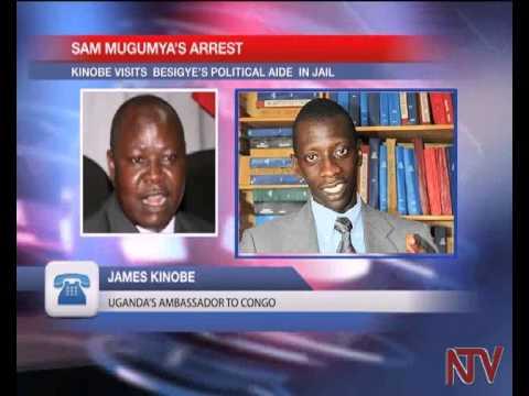 Uganda's ambassador to DRC visits Sam Mugumya in custody
