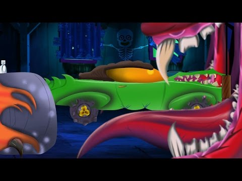 Scary Sports Car | Car Garage | Car Repair | Toy Garage Video | Cartoon For Children About Cars