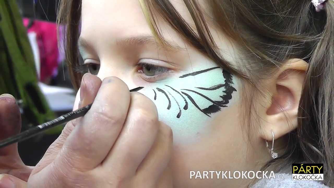 Malovani Na Oblicej Facepainting 2012 Youtube