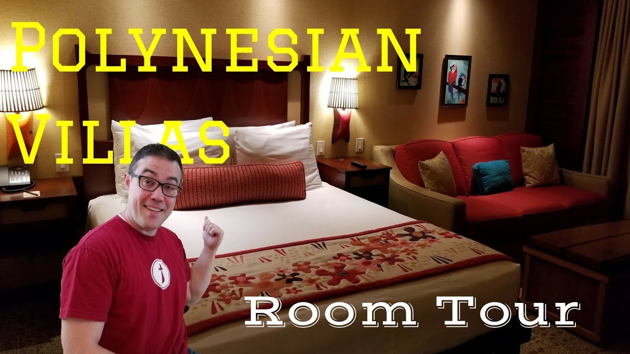 Polynesian Villa Studio Room Tour Youtube