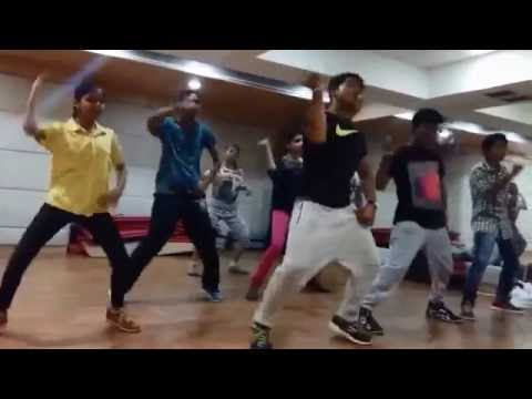 HR'S DANCE SCHOOL/freestyle HipHop/DJ Vale Babu by badshah