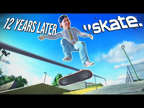 SKATE 1 IS STILL AMAZING 12 YEARS LATER - Xbox One Gameplay