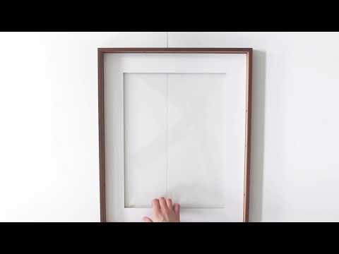 DIY Magnetic Chalkboard Frame - YouTube