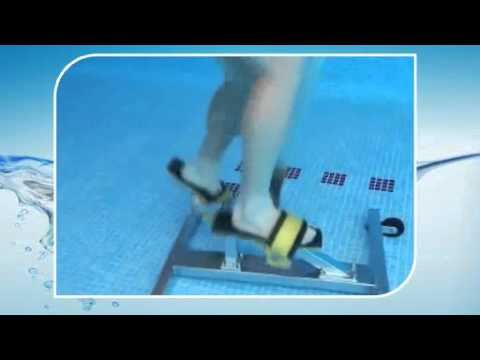 swimming pool fitness underwater gym equipment youtube