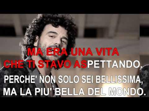 Francesco Renga - Era una vita che ti stavo aspettando - Karaoke con testo