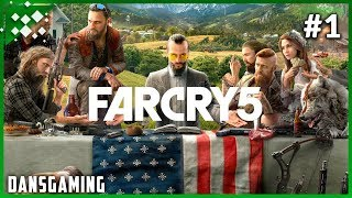 Let's Play Far Cry 5 (Part 1) - Dansgaming - PC Ultra Settings Gameplay