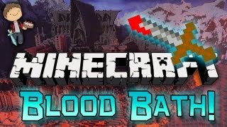 Minecraft: Blood Bath Gardens! Mini-Game w/Mitch & Friends!