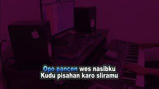 Karaoke Balungan Kere dandgut koplo no vokal cover keyboard