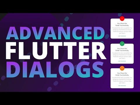An Advanced Flutter Dialog System