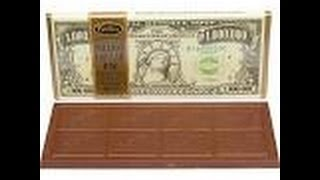 how does a million dollars chocolate bar taste like