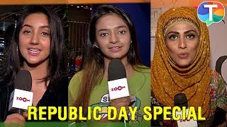Ashnoor Kaur, Anushka Sen, Monnikka Khanna and others share their Republic Day stories | Exclusive