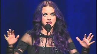 Katy Perry Acceptance Speech - NARM 2012 Artist Of The Year