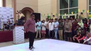 UOWD 20th Anniversary Celebration - Rap Performance