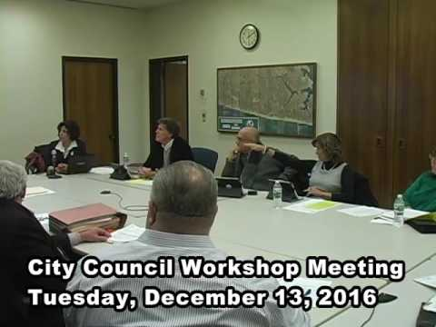 Long Branch (NJ) City Council Workshop12132016