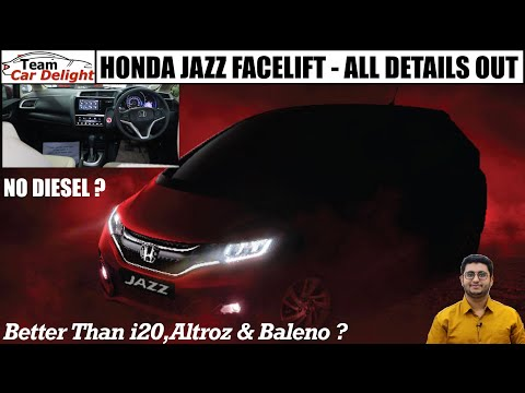 New Jazz 2020 Facelift BS6 Launch Date,Price,Interior,Features | Honda Jazz BS6