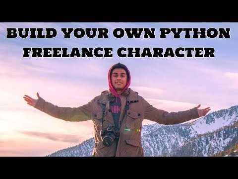 Build Your Own Python Freelance Character LIVE with Qazi