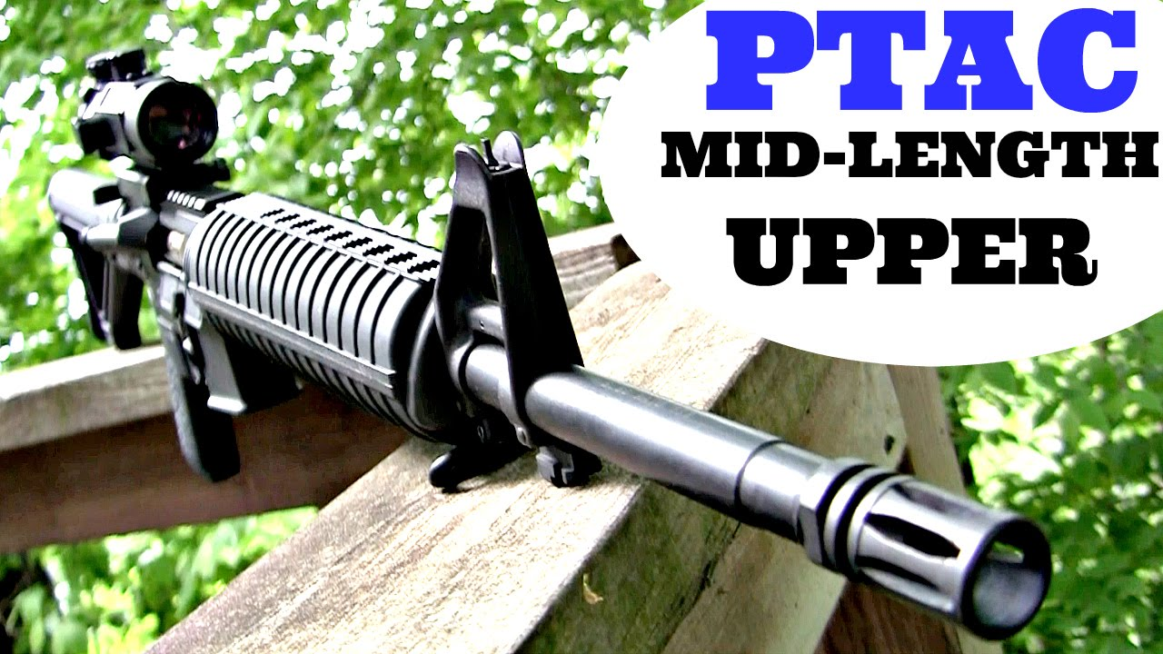 Palmetto State Armory PTAC Mid-Length Upper Review