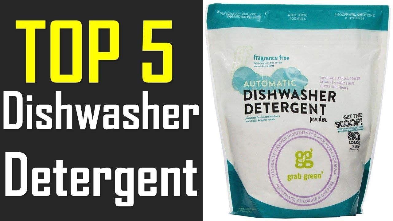Best Dishwasher Detergent The 5 Best Dishwasher Detergent In 2017 Youtube