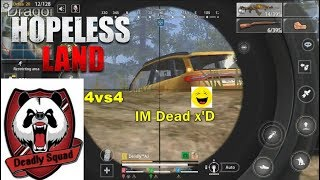 Cover images Hopeless Land | (32) Squad Kills | Chicken~ | Deadly Squad