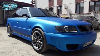 видео Тюнинг Audi 100, фото тюнинга салона, бампера Audi 100 C4