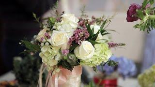 День 1: Свадебный букет ☆практический курс свадебной флористики и декора☆
