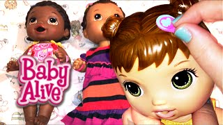 Baby Alive Super Snackin' Lily Doll Barrettes, Talking, 300,000 Subscribers, and Zoe's Donut Squishy