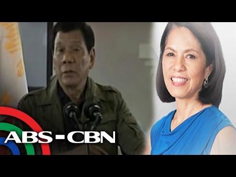 TV Patrol: Mabubuhay ang Pilipinas kahit walang pagmimina ayon kay Duterte