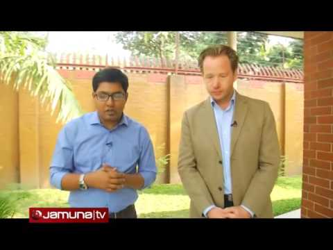 Australian High Commissioner in Dhaka Greg Willcock Interview with Jamuna TV