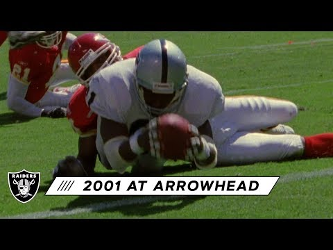 Raiders Open 2001 Season With Victory At Arrowhead | Silver & Black Throwback | Raiders