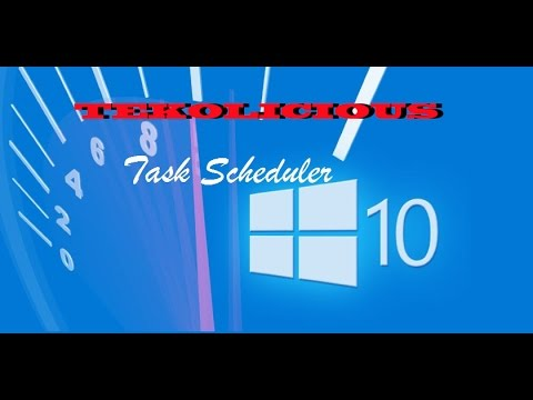 Setup Task Scheduler to Auto reboot in Windows 10 Quick and easy