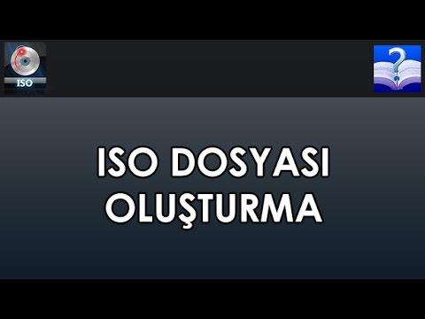 ISO Dosyası Oluşturma. Free ISO Creator Programı İle