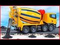 Cement Mixer Truck | Kids Cartoon | Construction Vehicle for children | Learn Transport Pa