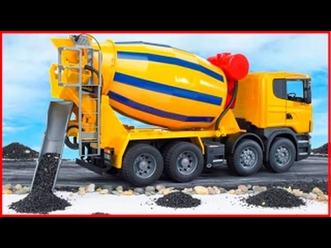 Cement Mixer Truck | Kids Cartoon | Construction Vehicle for children | Learn Transport Pa