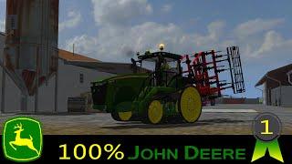 Farming simulator 2013 / EP1 / 100% JOHN DEERE