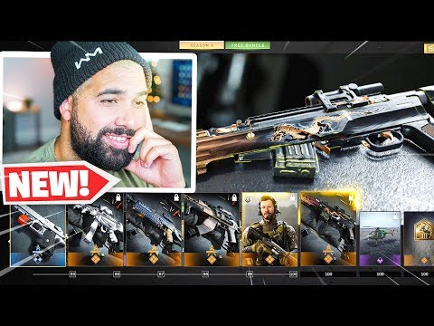 SEASON 3 MAX BATTLE PASS UNLOCKED! - Modern Warfare (100+ Tiers)