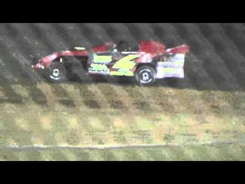 Ark La Tex Speedway USMTS Limited modified heat race 2 saturday night 2/27/16