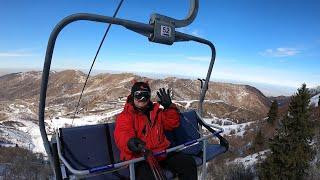 горнолыжный комплекс Лесная Сказка снег еще на растаял можно успеть