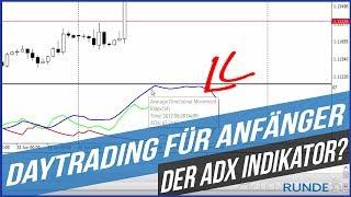 Daytrading für Anfänger: Wie funktioniert der ADX Indikator?