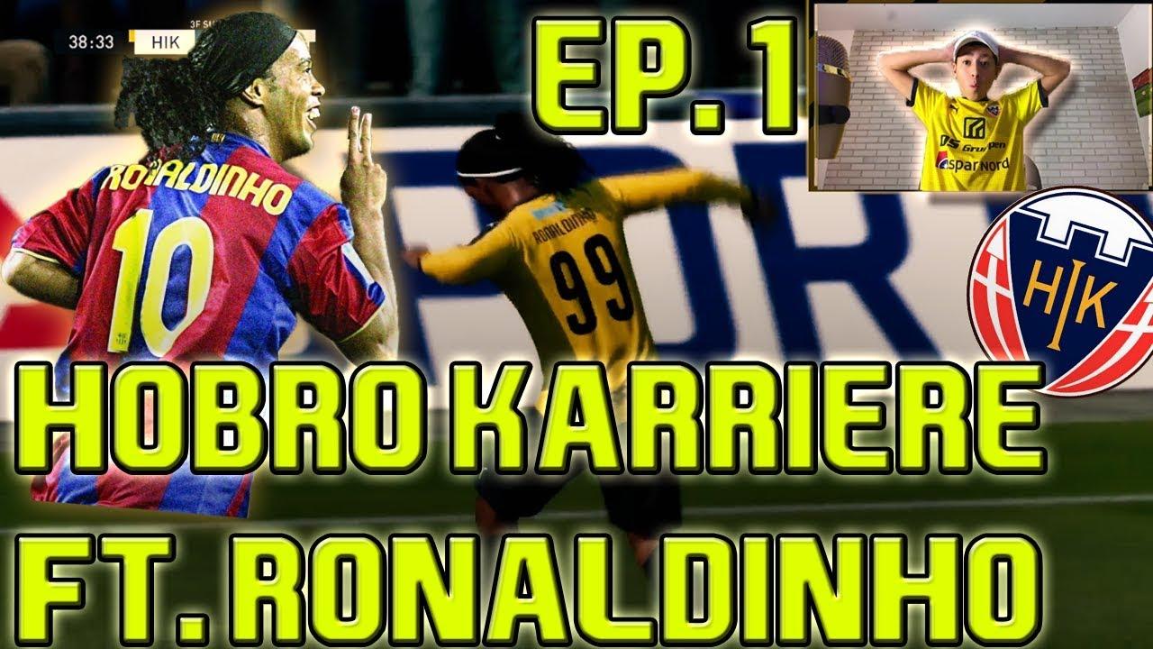 HOBRO KARRIERE FT. RONALDINHO 1# | FIFA 20 DANSK