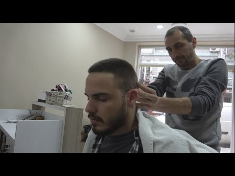 TURKISH BARBER FACE MASSAGE•HEAD MASSAGE•BODY MASSAGE ~ ASMR MASSAGE 333