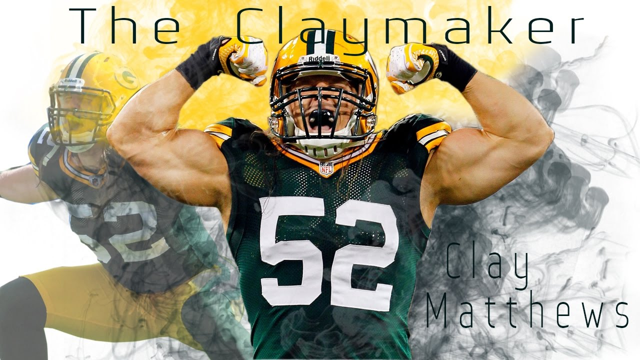 """Clay Matthews """"The Claymaker"""" Career Highlights"""
