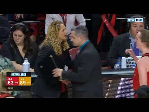 Top Plays: Nebraska at Maryland | Big Ten Women's Basketball