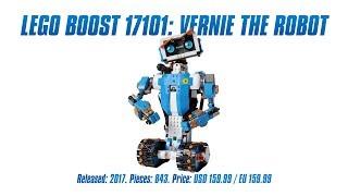 LEGO Boost 17101: Vernie the Robot test