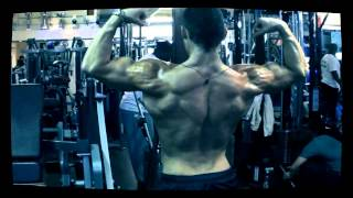 Musclemania Tv -  Back Width & Abs Tavi Castro Training Day 6