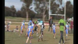 Rugby League 8 Year Old Big Hits !