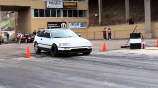 Stock B20 Nitrous CRX