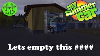 My summer car Its time to empty the poop #3