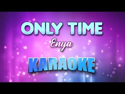 Enya - Only Time (Karaoke & Lyrics)